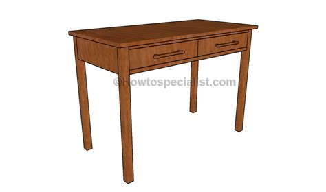 Computer Desk Blueprint Computer Desk Plans Howtospecialist How To Build Step By Step Diy Plans