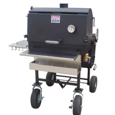 all star smoker/grill with oversized wheels from walton's