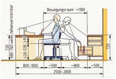 Arbeitsplattenhöhe Norm by Gestaltung Im Tischlerhandwerk Folge 3 Grunds 228 Tze Des