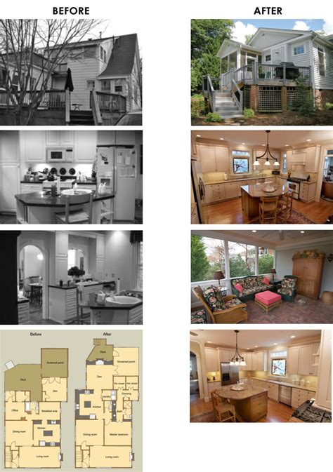 Home Design Before And After by Entire Home Remodel Before Amp After Woodwise Design