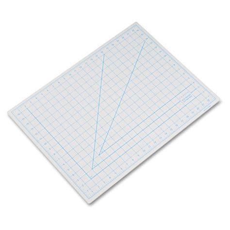 1 Inch Grid Cutting Mat - x acto self healing cutting mat with non stick bottom