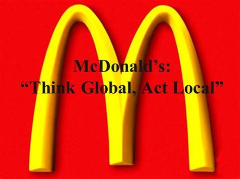 casestudy mcdonald authorstream