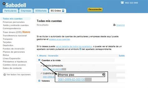 banc sabadell on line particulars poner un alias a tus cuentas y la reutilizaci 243 n de