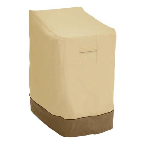 Classic Accessories Patio Furniture Covers Classic Accessories Veranda Stackable Patio Chair Cover 78972 The Home Depot