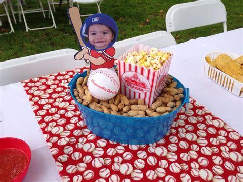 centerpiece idea for baseball theme all american birthday