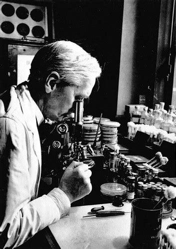 Old Photograph Sir Alexander Fleming Scotland   Sandy