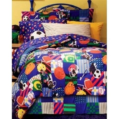 Size Sports Bedding by Size Sports Bedding Set Comforter Sheets Bed In A Bag