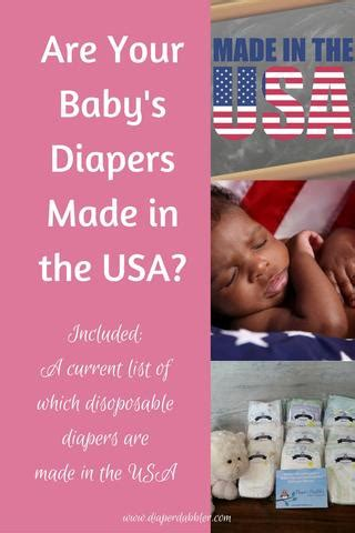 Giwang Tindik Baby Made In Usa are your baby s diapers made in the usa dabbler