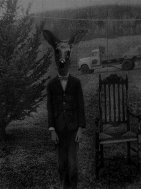 Creepy Deer Mask 13 best scary animals images on scary animals