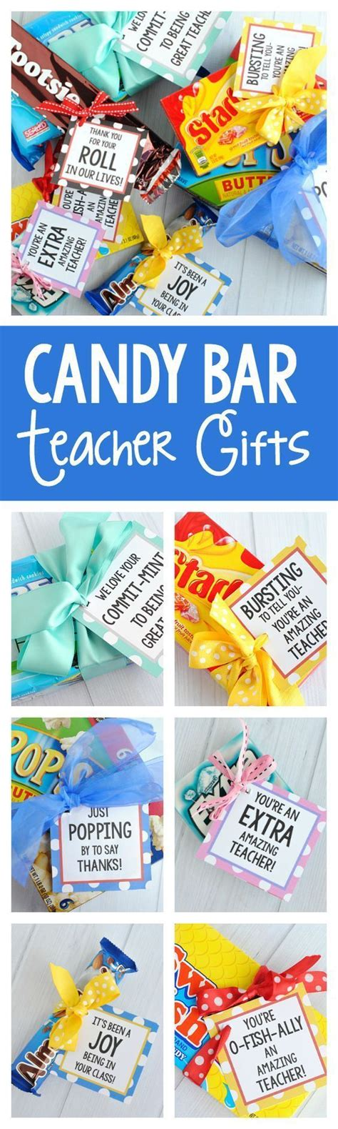 top 50 candy bars 17 best images about primary teacher appreciation gifts