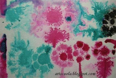 fiori fantastici quot i fiori fantastici quot con l inchiostro e la carta bagnata