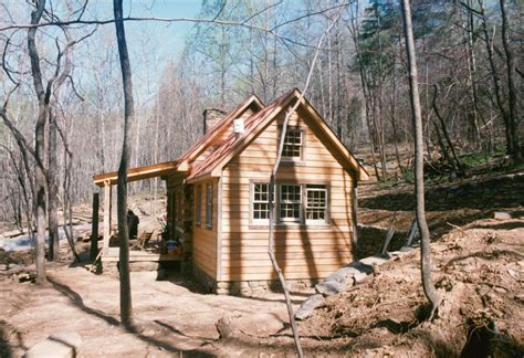 Handmade Homes - part four of building a rustic cabin handmade houses