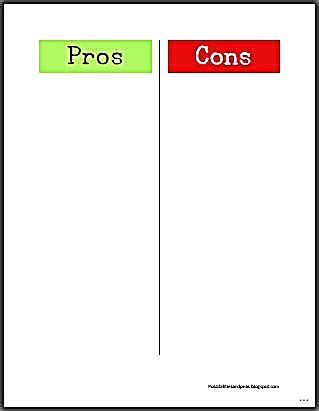 pros and cons list template pro and cons template motavera
