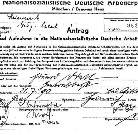 wann war der nationalsozialismus nationalsozialismus wann war ein mitglied ein partei