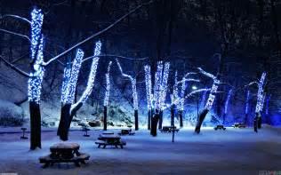 christmas blue lights wallpaper 20908 open walls