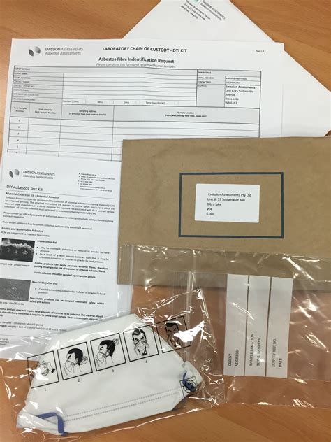 asbestos test kit includes 1 analysis asbestos assessments