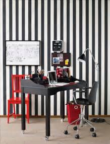 Red Black White Home Decor by Black And White Red Accents Home Office Design Decosee Com