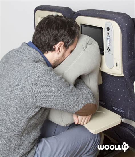 Pillow For Airplane Travel by Woollip An Travel Pillow For Sleeping On Planes