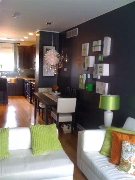Grey White Orange Living Room by Grey Green Orange Living Room Dining Room H O M E