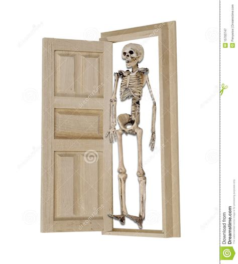 Skeleton In The Closet Meaning by Skeleton In The Closet Royalty Free Stock Photography