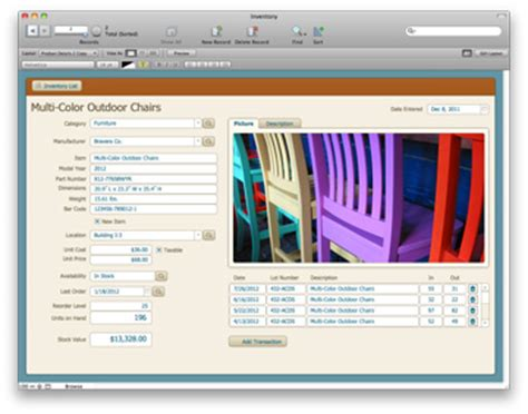 Filemaker 12 Ships With New Templates Charts 64 Bit Support The Mac Observer Free Filemaker Templates Mac
