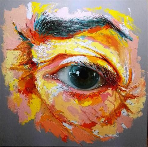 imagenes abstractas muy coloridas im 225 genes arte pinturas pinturas coloridas modernos ojos