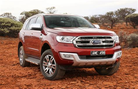 ford car tyres news ford everest titanium gets road wheel tyre option