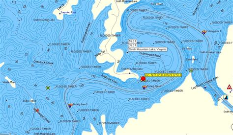 smith mountain lake fishing map my blog
