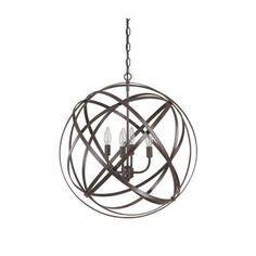 benita 5 light antique bronze metal globe chandelier 1000 ideas about orb chandelier on