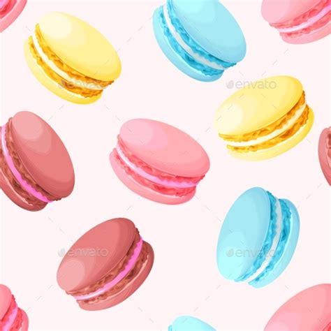 pastel macarons pattern seamless pastel macarons by greylilac graphicriver