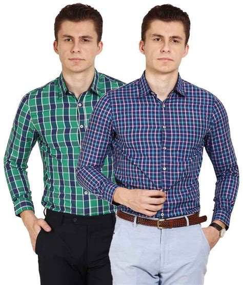 T Shirt Brookyln Bank Diskon blues pack of 2 multicoloured cotton