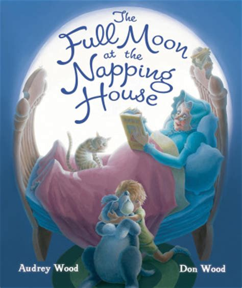 napping house full moon at the napping house