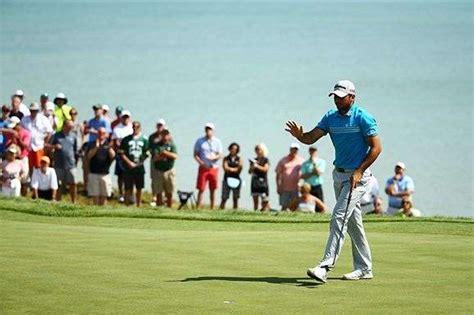 michigan golf magazine michigan pga chionship kicks us pga day jones impress as johnson leads golf