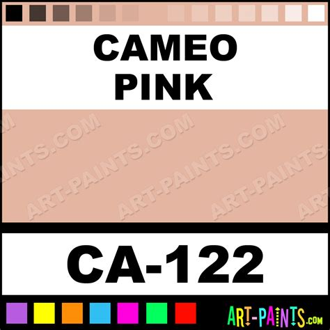 cameo pink clear glazes ceramic paints ca 122 cameo pink paint cameo pink color mayco