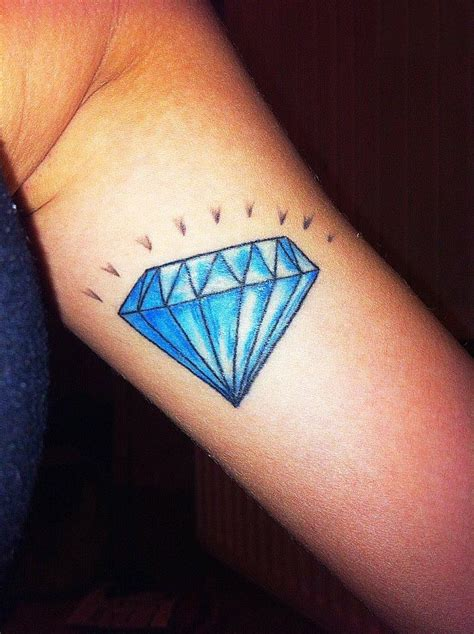 blue diamond tattoo tattoos page 3