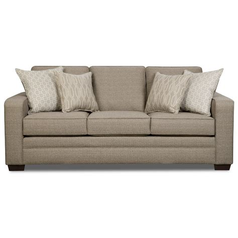 industries sleeper sofa united furniture industries 9065 transitional sofa with
