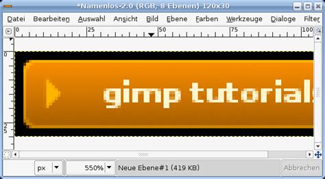 website gimp tutorial gimp web graphics stylish buttons tutorial