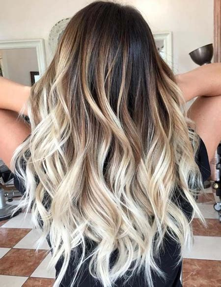 balayage with color evergreen balayage hair colors for hairstyles