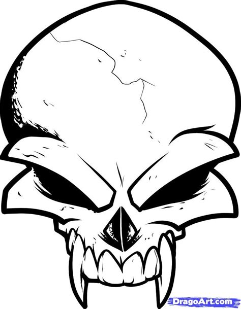 trace tattoo design how to draw a skull design skull design step