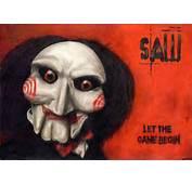 SAW Horror Dark Thriller Evil 1saw Poster Mask Clown