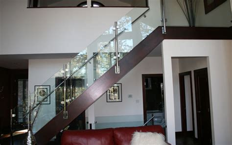 Interior Glass Railing by Excalabor Glass Aluminum