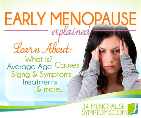 20 best images about menopause premature or early menopause signs and symptoms 34
