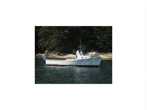 lobster boat usato sisu 22 22 lobster boat in maine barche a motore usate