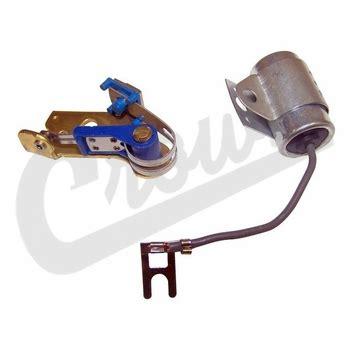 jeep ignition capacitor j4488760 ignition points condenser kit for 1965 1974 jeep sj j series w 3 8l 4 2l engines