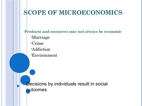 Scope Of Mba In Import And Export by Introduction To Microeconomics