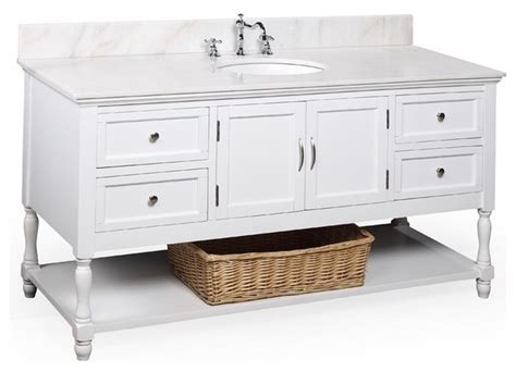 beverly 60 in single sink bath vanity white white