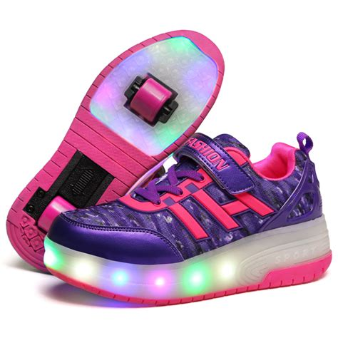 children boys glowing sneakers lights up shoes