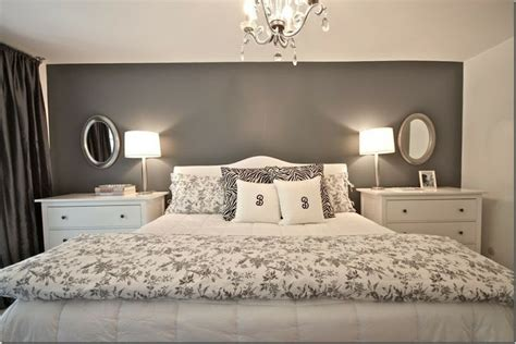 gray accent wall dark grey bedroom walls before the master bedroom was a