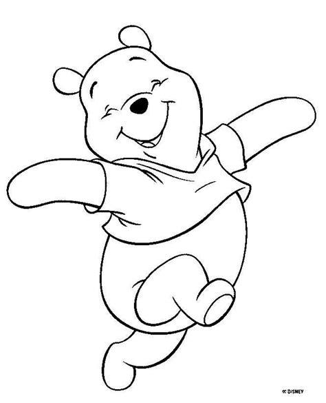 imagen de winnie pooh de navidad para colorear imagenes dibujo para colorear winnie pooh 01