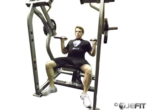 shoulders bench press leverage shoulder press exercise database jefit best